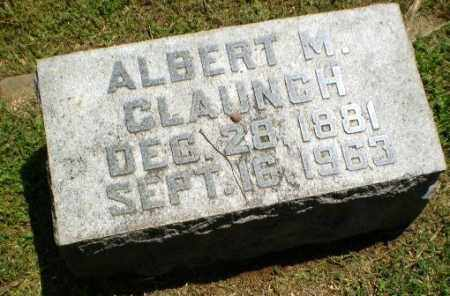 CLAUNCH, ALBERT M - Craighead County, Arkansas | ALBERT M CLAUNCH - Arkansas Gravestone Photos