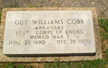 COBB  (VETERAN WWI), GUY WILLIAMS - Craighead County, Arkansas | GUY WILLIAMS COBB  (VETERAN WWI) - Arkansas Gravestone Photos