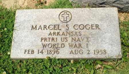 COGER  (VETERAN WWI), MARCEL S - Craighead County, Arkansas | MARCEL S COGER  (VETERAN WWI) - Arkansas Gravestone Photos