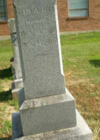 COLE, ELEN A - Craighead County, Arkansas | ELEN A COLE - Arkansas Gravestone Photos