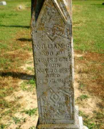COLE, WILLIAM G - Craighead County, Arkansas | WILLIAM G COLE - Arkansas Gravestone Photos