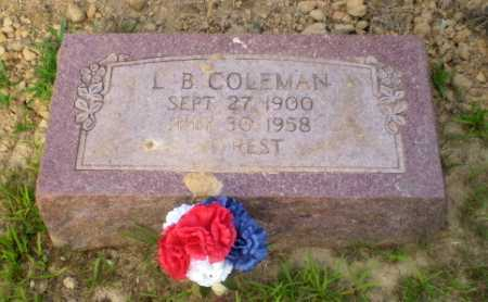 COLEMAN, L.B. - Craighead County, Arkansas | L.B. COLEMAN - Arkansas Gravestone Photos