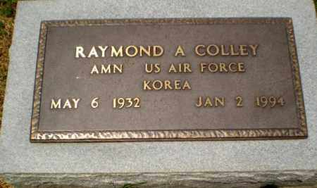 COLLEY  (VETERAN KOR), RAYMOND A - Craighead County, Arkansas | RAYMOND A COLLEY  (VETERAN KOR) - Arkansas Gravestone Photos