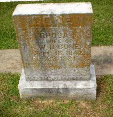 CONE, RHODA E - Craighead County, Arkansas | RHODA E CONE - Arkansas Gravestone Photos