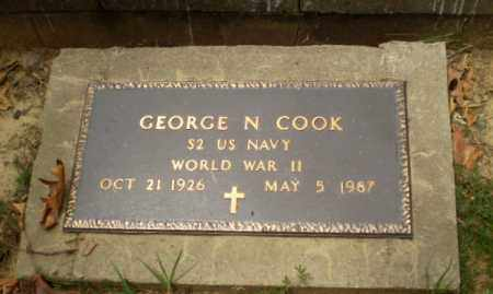 COOK  (VETERAN WWII), GEORGE N - Craighead County, Arkansas | GEORGE N COOK  (VETERAN WWII) - Arkansas Gravestone Photos