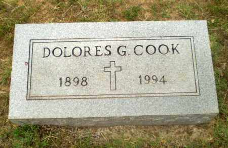 COOK, DOLORES G - Craighead County, Arkansas | DOLORES G COOK - Arkansas Gravestone Photos