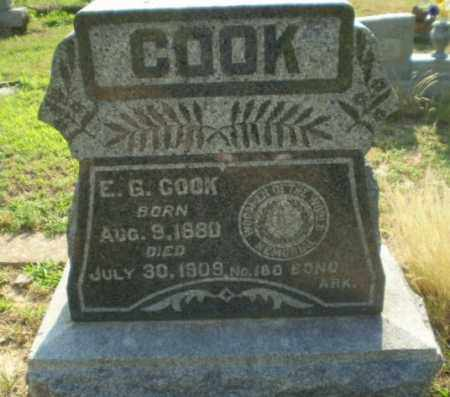 COOK, E.G. - Craighead County, Arkansas | E.G. COOK - Arkansas Gravestone Photos