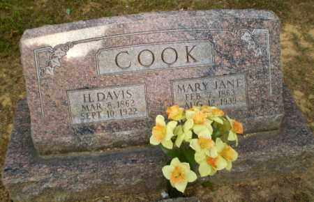 COOK, MARY JANE - Craighead County, Arkansas | MARY JANE COOK - Arkansas Gravestone Photos