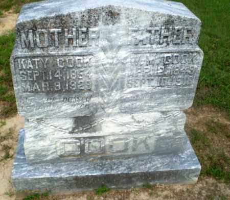 COOK, W.M. - Craighead County, Arkansas | W.M. COOK - Arkansas Gravestone Photos