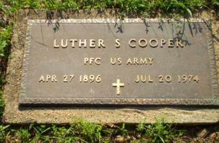 COOPER   (VETERAN), LUTHER S - Craighead County, Arkansas | LUTHER S COOPER   (VETERAN) - Arkansas Gravestone Photos