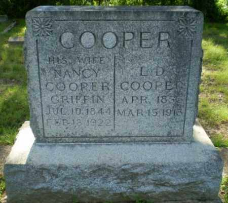 COOPER, NANCY - Craighead County, Arkansas | NANCY COOPER - Arkansas Gravestone Photos