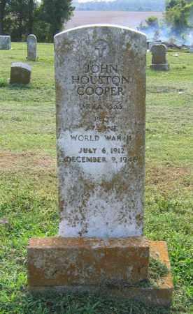 COOPER (VETERAN WWII), JOHN HOUSTON - Craighead County, Arkansas | JOHN HOUSTON COOPER (VETERAN WWII) - Arkansas Gravestone Photos