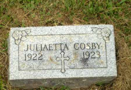 COSBY, JULIAETTA - Craighead County, Arkansas | JULIAETTA COSBY - Arkansas Gravestone Photos
