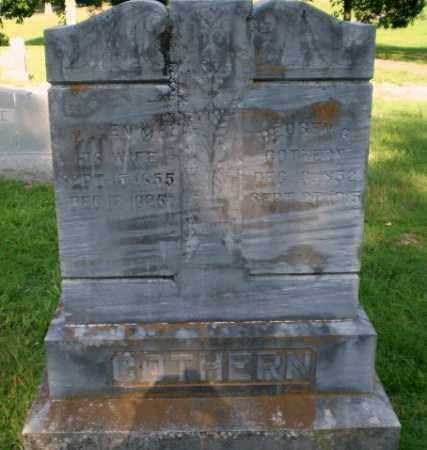COTHREN, REUBEN G - Craighead County, Arkansas | REUBEN G COTHREN - Arkansas Gravestone Photos