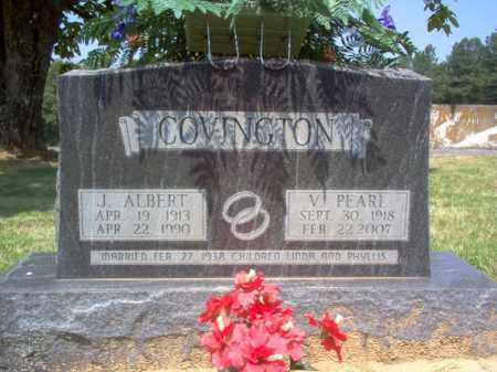COVINGTON, J ALBERT - Craighead County, Arkansas | J ALBERT COVINGTON - Arkansas Gravestone Photos