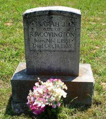 COVINGTON, SARAH J - Craighead County, Arkansas | SARAH J COVINGTON - Arkansas Gravestone Photos