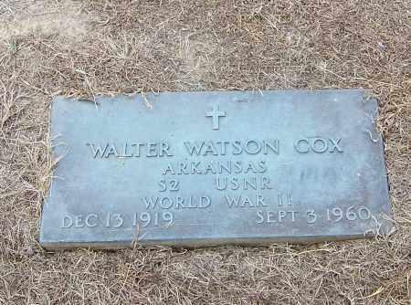 COX  (VETERAN  WWII), WALTER WATSON - Craighead County, Arkansas | WALTER WATSON COX  (VETERAN  WWII) - Arkansas Gravestone Photos