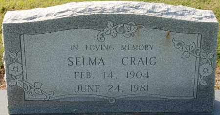 SPURLOCK CRAIG, SELMA - Craighead County, Arkansas | SELMA SPURLOCK CRAIG - Arkansas Gravestone Photos