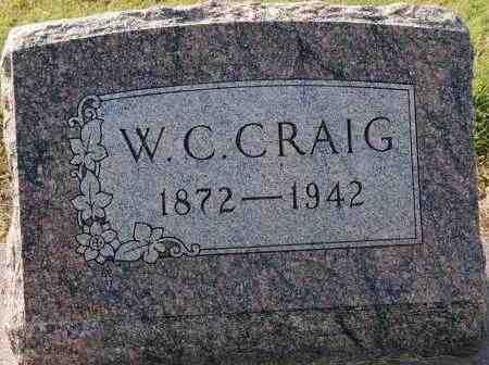 CRAIG, W.    C. - Craighead County, Arkansas | W.    C. CRAIG - Arkansas Gravestone Photos