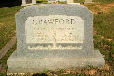 CRAWFORD, T.W. - Craighead County, Arkansas | T.W. CRAWFORD - Arkansas Gravestone Photos