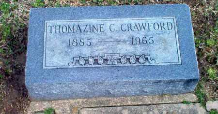 CRAWFORD, THOMAZINE C - Craighead County, Arkansas | THOMAZINE C CRAWFORD - Arkansas Gravestone Photos