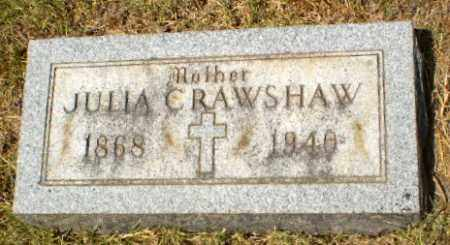 CRAWSHAW, JULIA - Craighead County, Arkansas | JULIA CRAWSHAW - Arkansas Gravestone Photos