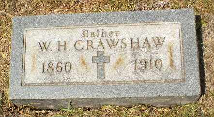 CRAWSHAW, W.H. - Craighead County, Arkansas | W.H. CRAWSHAW - Arkansas Gravestone Photos