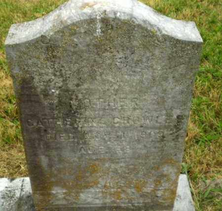 CROWLEY, CATHERINE - Craighead County, Arkansas | CATHERINE CROWLEY - Arkansas Gravestone Photos