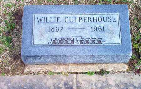 CULBERHOUSE, WILLIE - Craighead County, Arkansas | WILLIE CULBERHOUSE - Arkansas Gravestone Photos