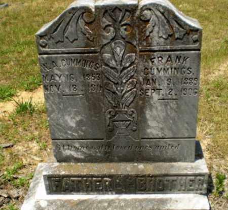 CUMMINGS, W.A. - Craighead County, Arkansas | W.A. CUMMINGS - Arkansas Gravestone Photos