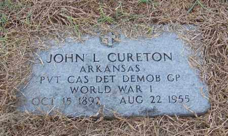 CURETON  (VETERAN WWI), JOHN L. - Craighead County, Arkansas | JOHN L. CURETON  (VETERAN WWI) - Arkansas Gravestone Photos