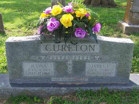 CURETON, JULINA - Craighead County, Arkansas | JULINA CURETON - Arkansas Gravestone Photos