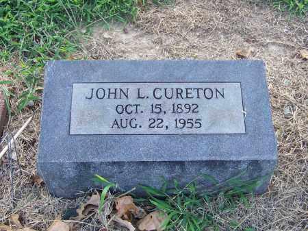 CURETON, JOHN L. - Craighead County, Arkansas   JOHN L. CURETON - Arkansas Gravestone Photos