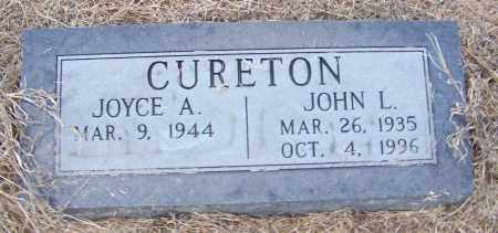 CURETON, JOHN L. - Craighead County, Arkansas | JOHN L. CURETON - Arkansas Gravestone Photos