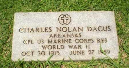 DACUS  (VETERAN WWII), CHARLES NOLAN - Craighead County, Arkansas | CHARLES NOLAN DACUS  (VETERAN WWII) - Arkansas Gravestone Photos