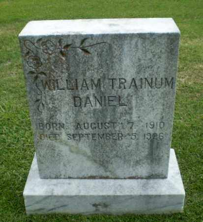 DANIEL, WILLIAM TRAINUM - Craighead County, Arkansas | WILLIAM TRAINUM DANIEL - Arkansas Gravestone Photos