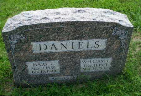DANIELS, WILLIAM L - Craighead County, Arkansas | WILLIAM L DANIELS - Arkansas Gravestone Photos