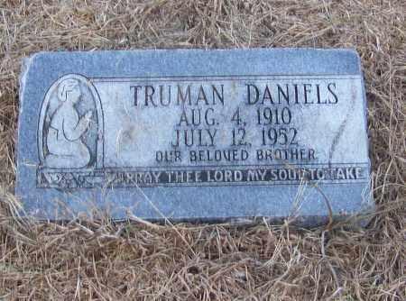 DANIELS, TRUMAN - Craighead County, Arkansas | TRUMAN DANIELS - Arkansas Gravestone Photos