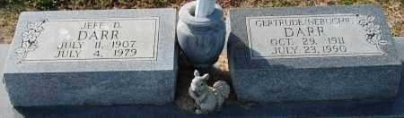 DARR, JEFF D - Craighead County, Arkansas | JEFF D DARR - Arkansas Gravestone Photos
