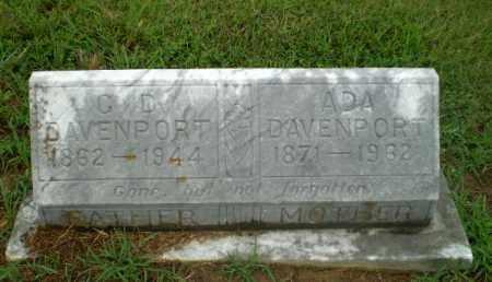 DAVENPORT, ADA - Craighead County, Arkansas | ADA DAVENPORT - Arkansas Gravestone Photos