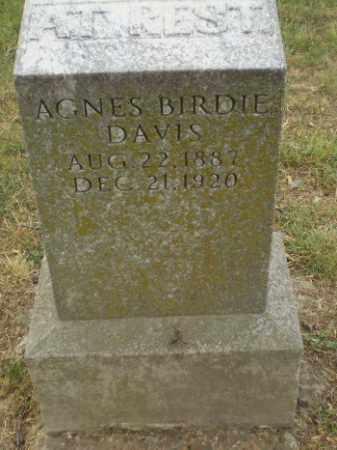 DAVIS, AGNES BIRDIE - Craighead County, Arkansas | AGNES BIRDIE DAVIS - Arkansas Gravestone Photos