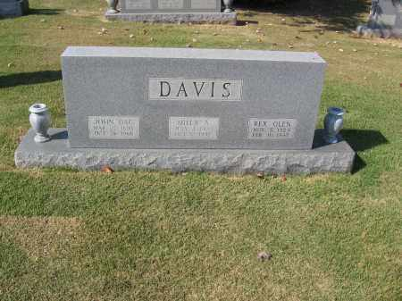 DAVIS, REX OLEN - Craighead County, Arkansas | REX OLEN DAVIS - Arkansas Gravestone Photos