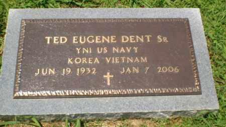 DENT, SR  (VETERAN 2 WARS), TED EUGENE - Craighead County, Arkansas   TED EUGENE DENT, SR  (VETERAN 2 WARS) - Arkansas Gravestone Photos