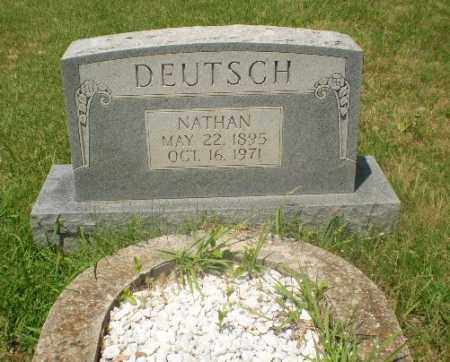 DEUTSCH, NATHAN - Craighead County, Arkansas | NATHAN DEUTSCH - Arkansas Gravestone Photos