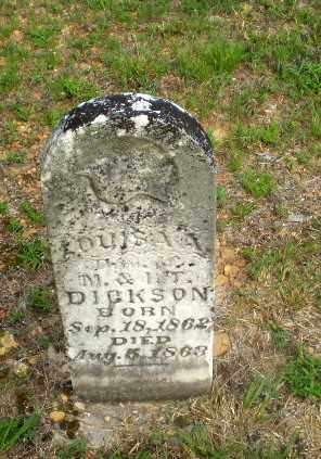 DICKSON, LOUISA A - Craighead County, Arkansas | LOUISA A DICKSON - Arkansas Gravestone Photos