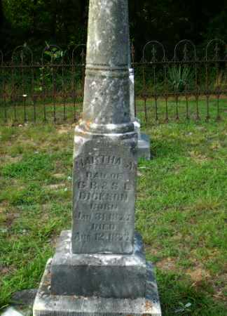 DICKSON, MARTHA A - Craighead County, Arkansas | MARTHA A DICKSON - Arkansas Gravestone Photos