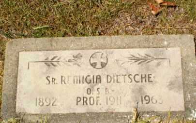 DIETSCHE, SISTER M. REMIGIA - Craighead County, Arkansas | SISTER M. REMIGIA DIETSCHE - Arkansas Gravestone Photos