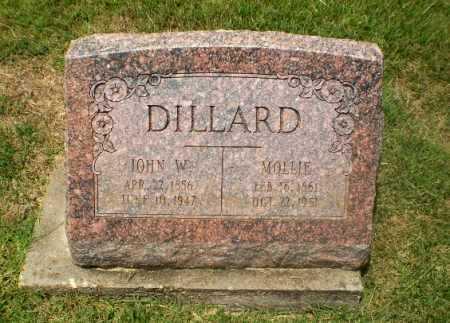 DILLARD, JOHN W - Craighead County, Arkansas | JOHN W DILLARD - Arkansas Gravestone Photos