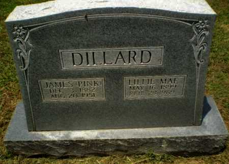 "DILLARD, JAMES ""PINK"" - Craighead County, Arkansas 