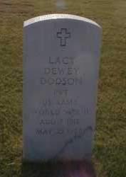 DODSON (VETERAN WWII), LACY DEWEY - Craighead County, Arkansas | LACY DEWEY DODSON (VETERAN WWII) - Arkansas Gravestone Photos